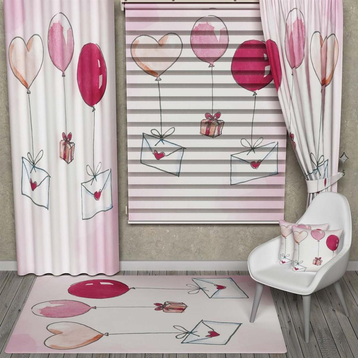 Balonlar ve Mektuplar Kombinli Set Ürünler